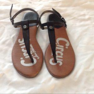 Circus black sandals